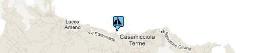Port of Casamicciola: Map